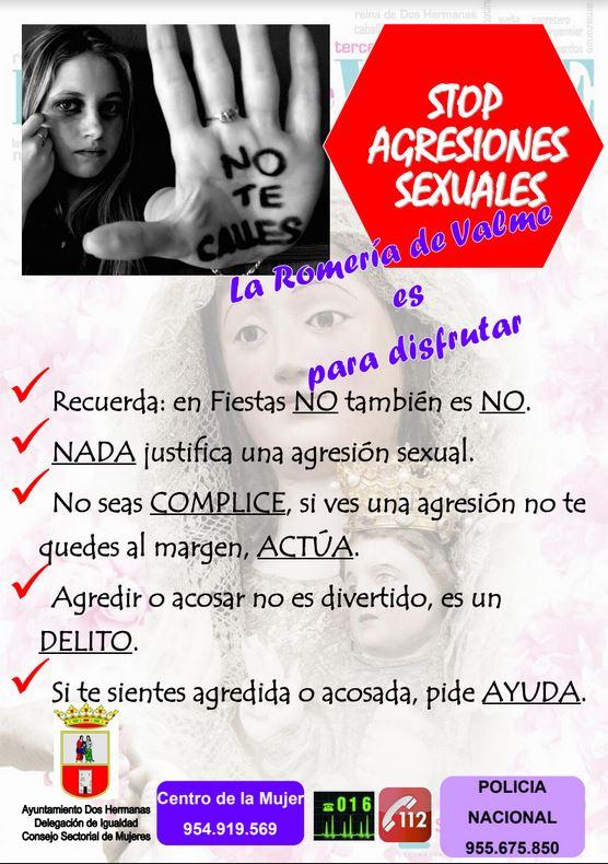 CAMPAÑA STOP AGRESIONES SEXUALES