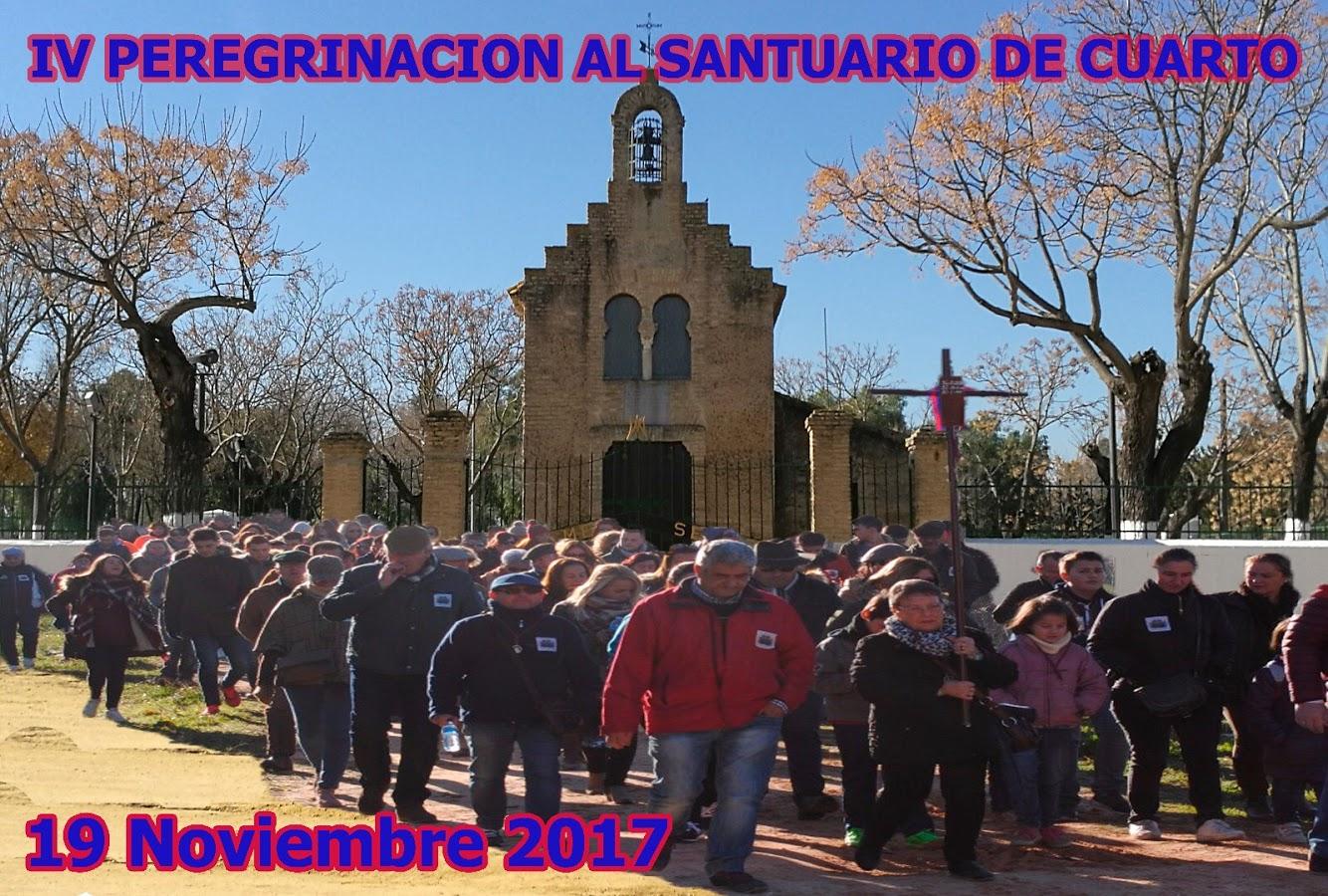 IV PEREGRINACIÓN DE CARRETEROS, GALERISTAS Y CABALLISTAS DE VALME AL REAL SANTUARIO DE CUARTO