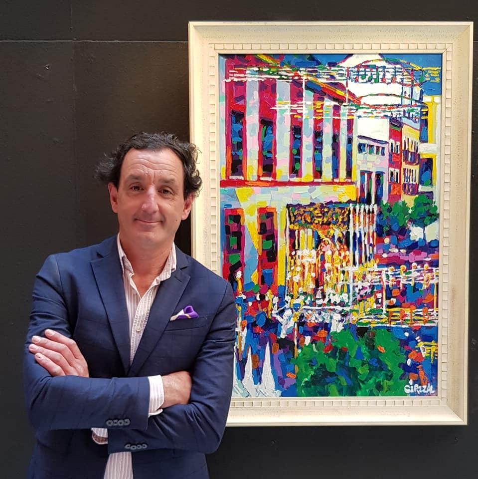 José Cerezal, cartelista de la Romería de Valme 2019