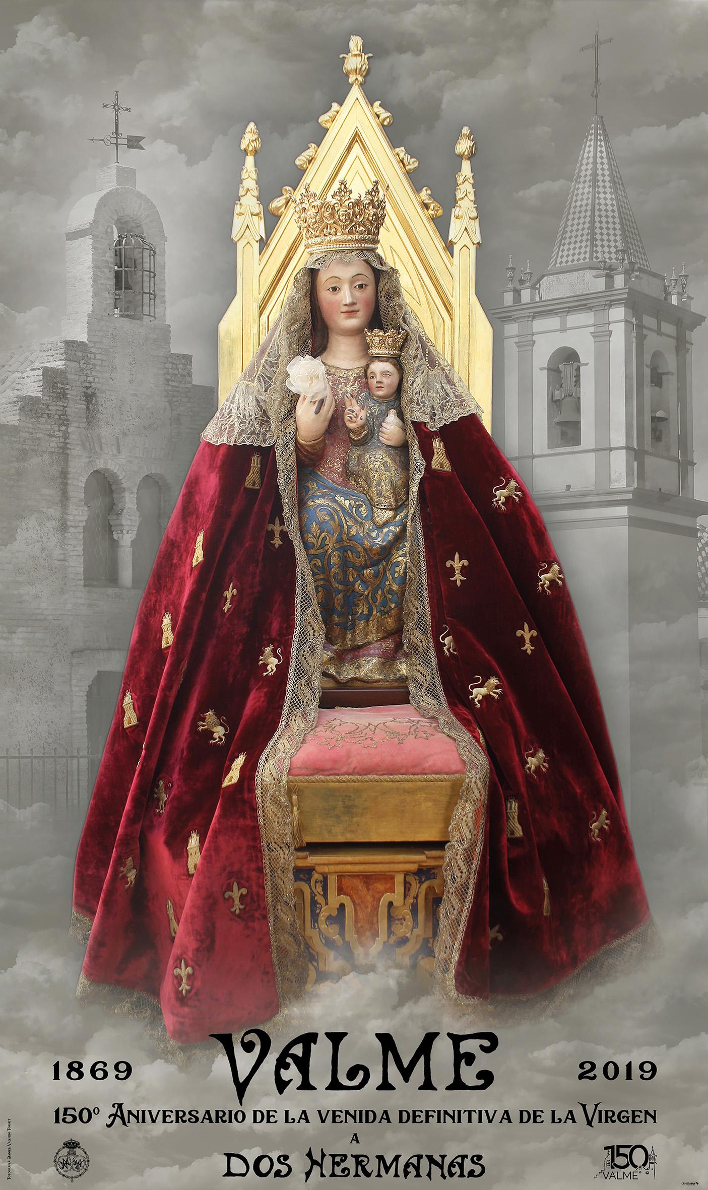Avance del programa de actos del 150º aniversario de la venida definitiva de la Virgen de Valme