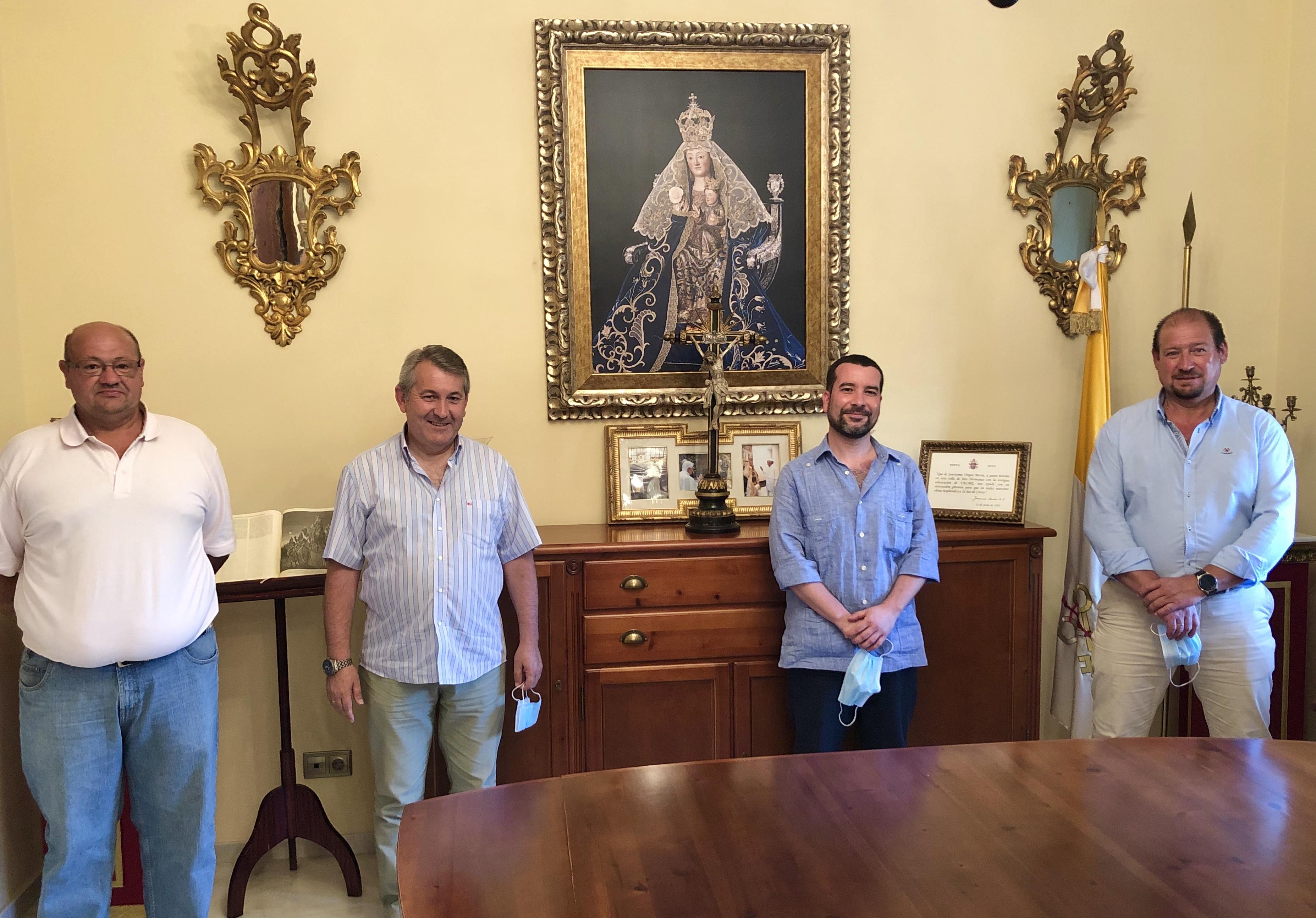Las Hermandades de San Diego de Almensilla, Torrijos, Valme y Cuatrovitas analizan de forma conjunta el impacto del COVID-19 en la celebración de sus respectivas romerías