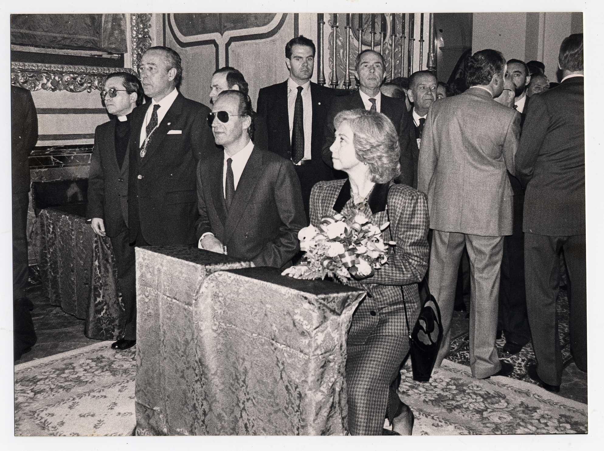 La Hermandad de Valme muestra su adhesión a la Casal Real española y a su labor institucional