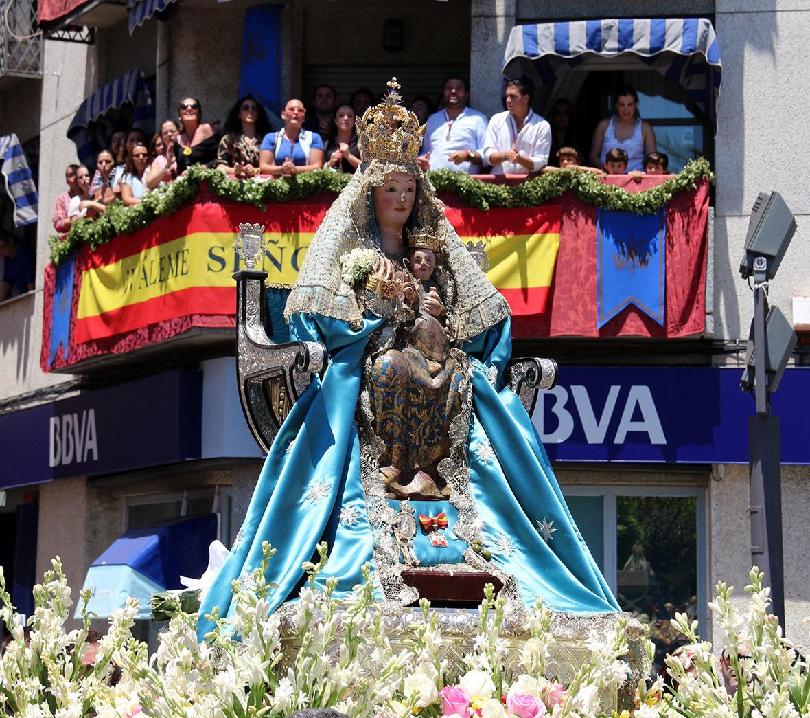 La Virgen de Valme irá en peregrinación hasta su Ermita de Cuarto el Tercer Domingo Octubre