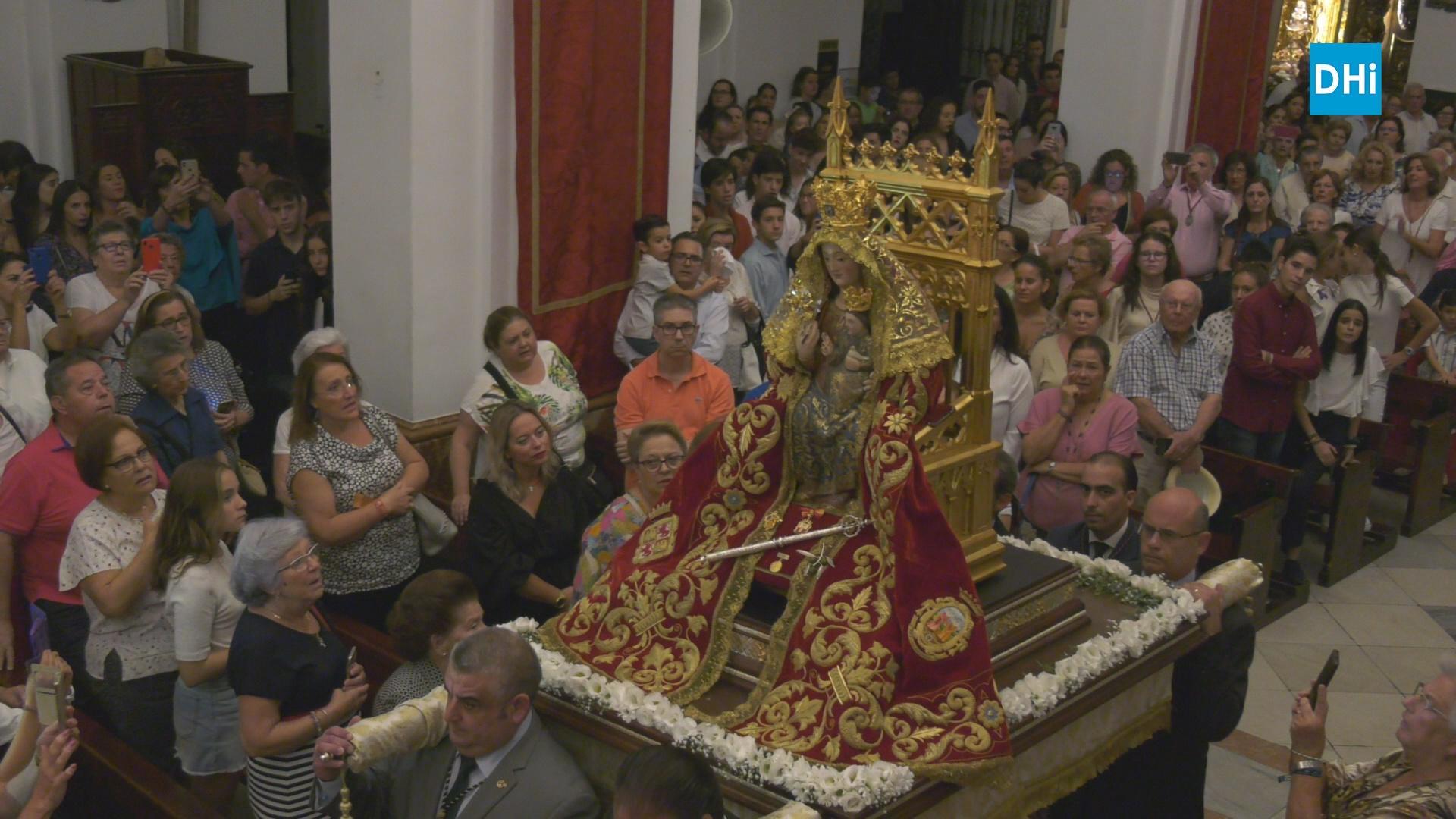 Los cultos en honor a Nuestra Señora de Valme comienzan esta tarde con el traslado a su altar de cultos